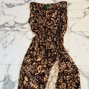 Lauren Ralph Lauren Floral Wrap Dress Sz 4